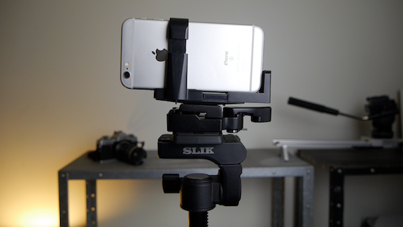 smartphone statief attachment